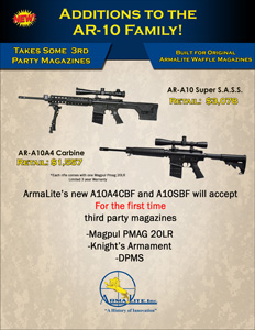 Armalite AR-10 PMAGS