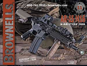 Brownells AR-15, M16, 308AR Catalog #11 is Available and Free!