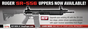 Ruger Piston Driven Uppers for SR-556 AR Platform
